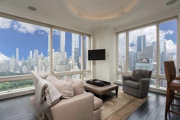 1 Central Park West için Manhattan gayrimenkul fiyatları