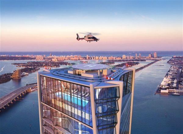 1000 Museum Satılık Miami Condos