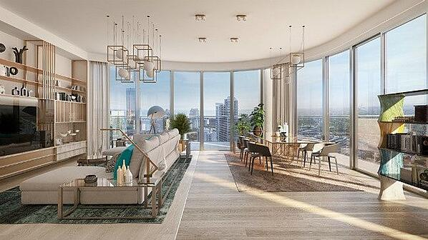 Satılık Brickell flatiron Penthouse Miami kınamak
