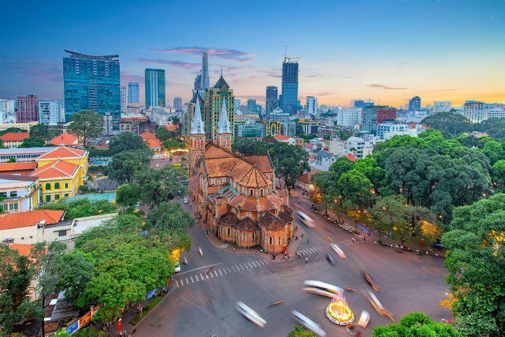 Saygon Ho Chi Minh Şehir