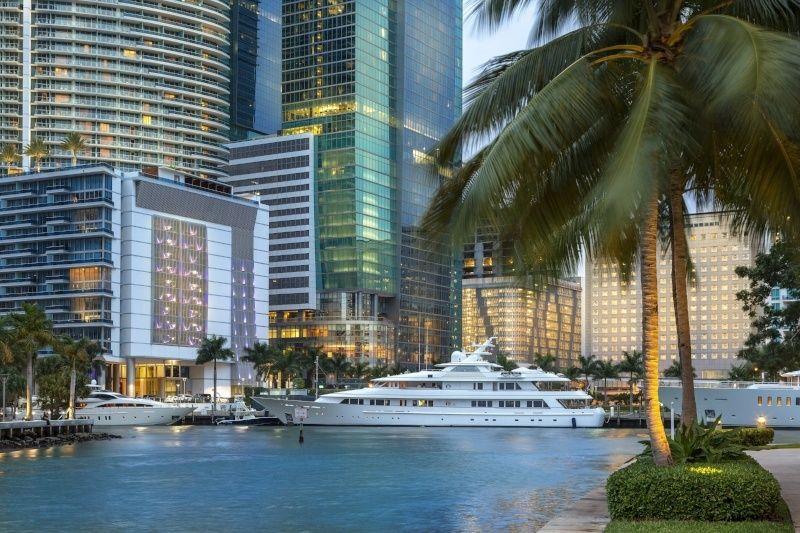 Miami de ülkenin her yerinden gelen ziyaretçiler ile, bir üst iç hedeftir. 2016'da ziyaretçi geldiği ilk 5 şehir: